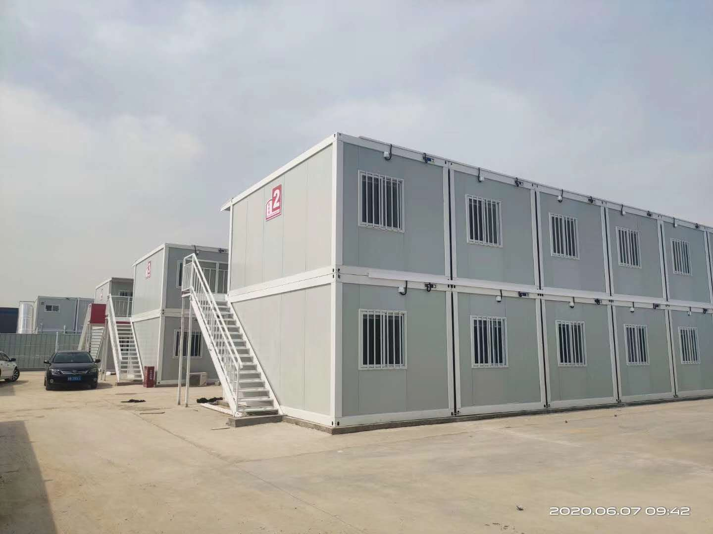 movable container house