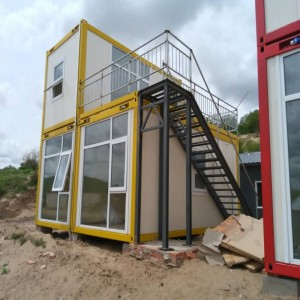Flat Pack Prefab Container House for Living