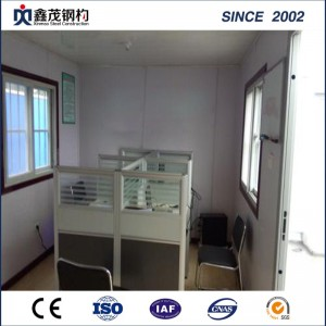Modern Sandwich Panel Economic Flat Pack Prefab Container Office House