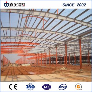 Free Design Steel Structure Workshop /Warehouse Prefabricated Steel Structure Buildings