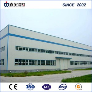 High Quality Pre-Engineered Hangar Metal Factory Building Light Frame Steel Structure Workshop