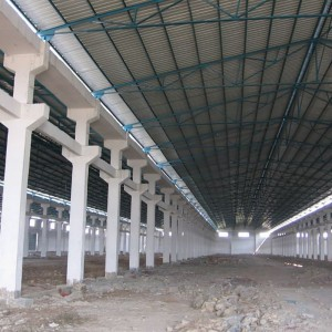 Professional Designed Fabricated Structure for Supermarket From China