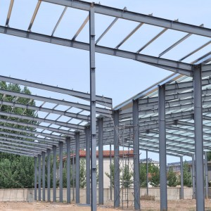 Prefabricated warehouse steel structure with Fast Installation and Efficient Cost