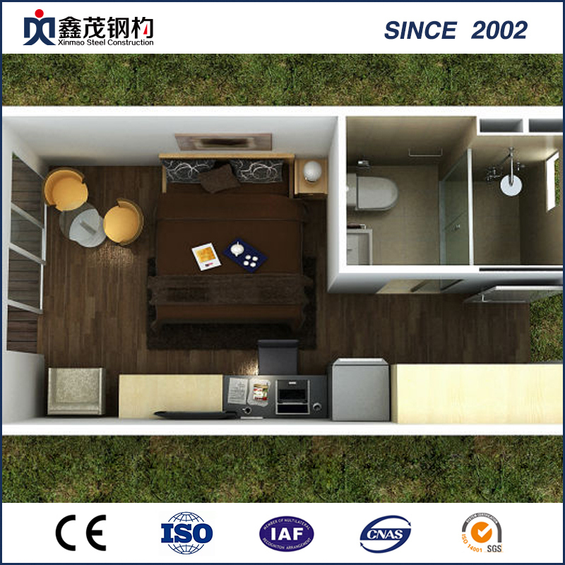 Lowest Price for Steel Workshop Bench Plans - Cabin House with Building Materials, Drawing and Installation – Xinmao ZT Steel