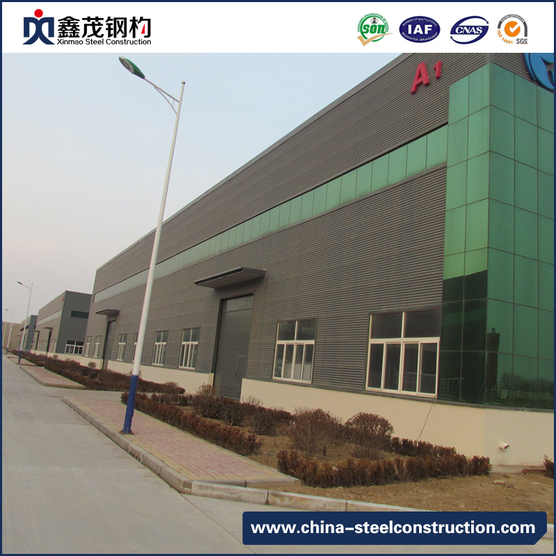 Chian Prefab Steel Construction Building Steel Frame Warehouse