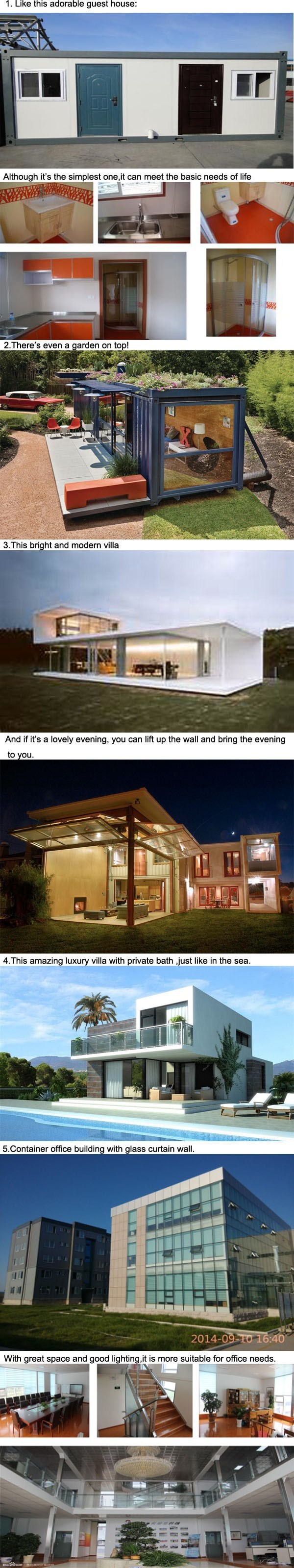 China Fast Installation Standard Modular Container House