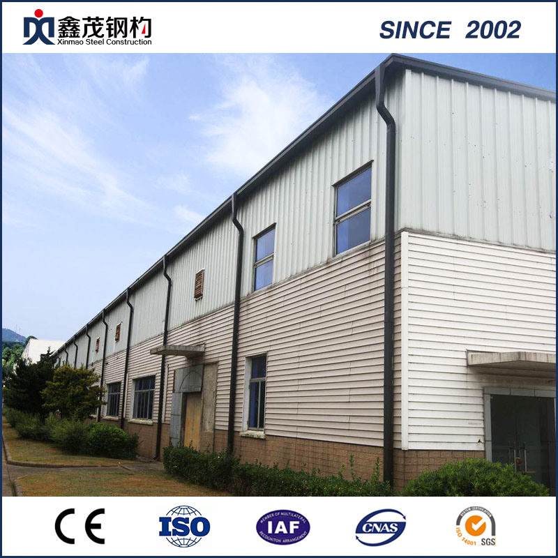 CE Certificate The Prefab House - China High Strength Prefab Steel Structure Workshop with ISO Certification – Xinmao ZT Steel
