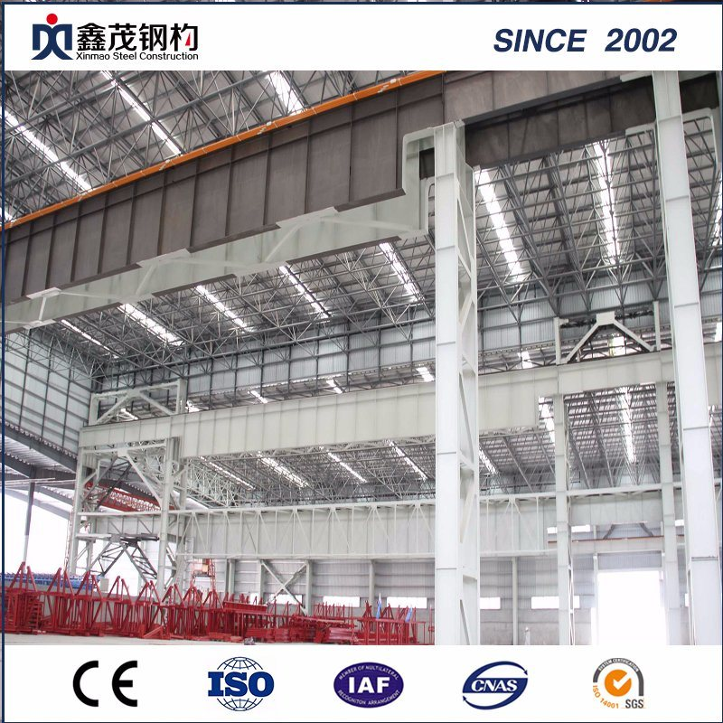 Commercial Prefabricated Steel Building Workshop with Earthquake Resistance