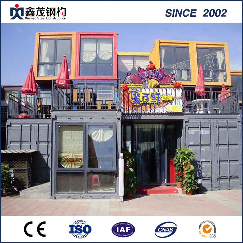 Leading Manufacturer for Prefabricated Residential Houses - Customized Assemble and Movable Container House for Modular Hotel – Xinmao ZT Steel