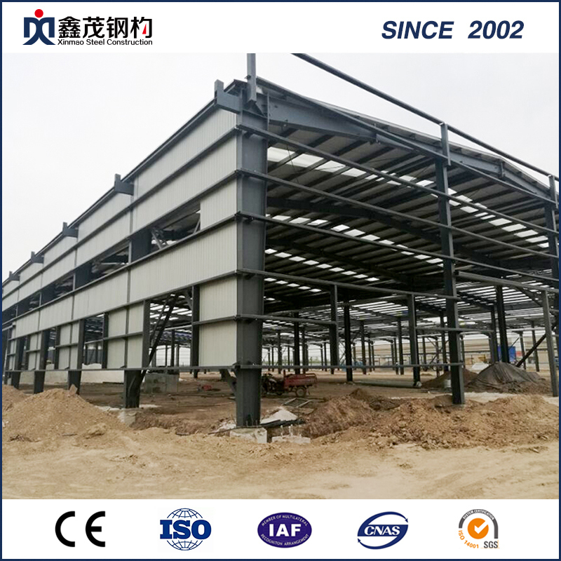 Customized Prefab Steel Structure Buildings Workshop Made From Structure Steel