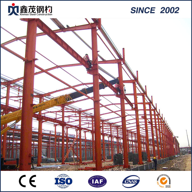 Earthquake Resistant Steel Building for Steel Warehouse