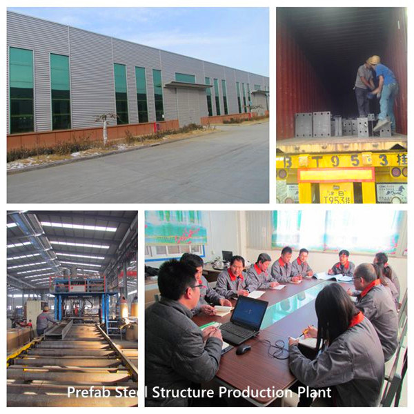 Competitive Price for Container Home California - Economical Steel Frame House for Warehouse /Workshop /Commercial Building – Xinmao ZT Steel