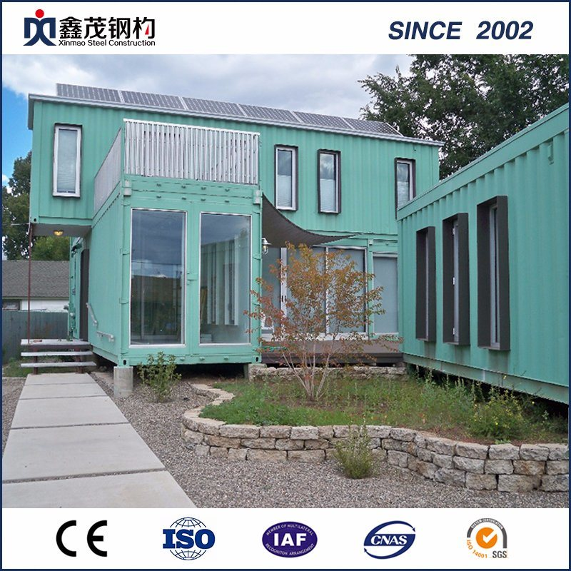 8 Years Exporter Prefabricated Poultry House Philippines - Fashionable Design Shipping Container House with Fittment – Xinmao ZT Steel