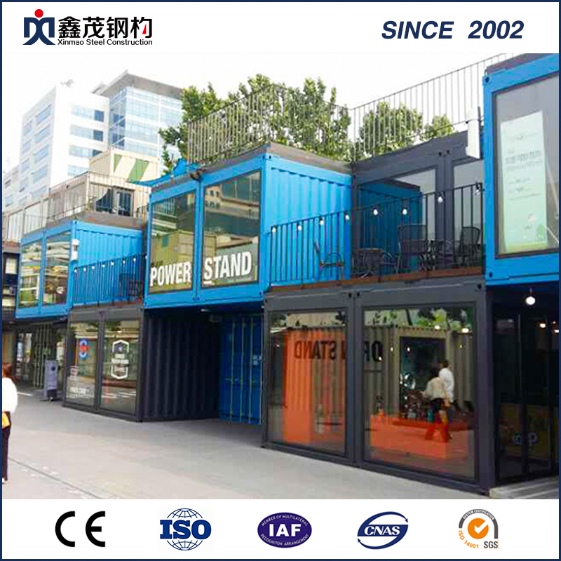 Fashionable Design Solar Board Container House for Retail Store