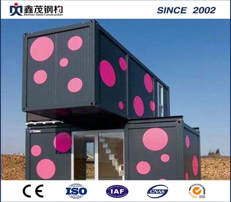 Bottom price Steel Structure Prefab Camping House -