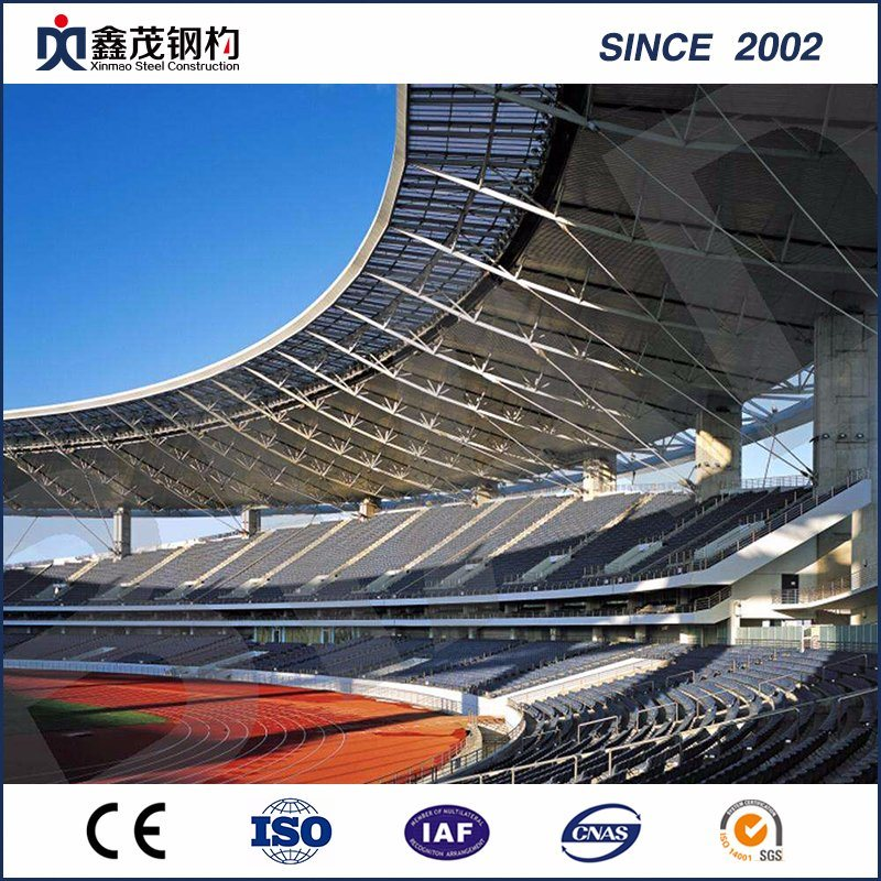 Full Set Top Quality Steel Structure Sports Center with ISO Certification