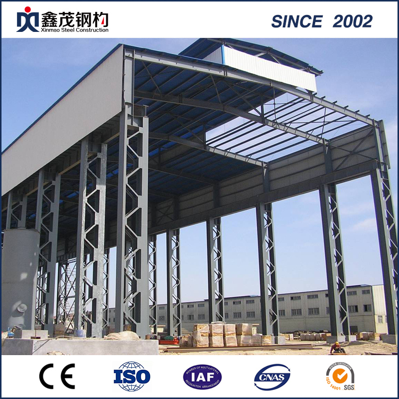 Low MOQ for Steel Fabricated House - Glavanzed H-Section Prefab Steel Building for Warehouse (Steel Structure Warehouse) – Xinmao ZT Steel