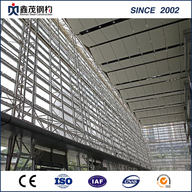 H Section Steel Construction Steel Structure Exhibition Hall
