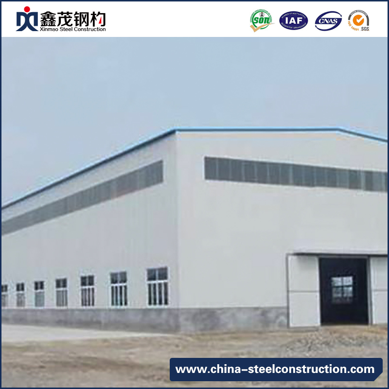 H Section Steel Prefabricated Steel Construction Buildings for Factory, Workshop