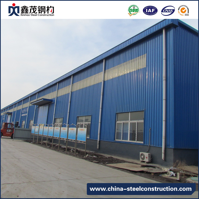 High Quality Low Cost China Steel Structure Workshop