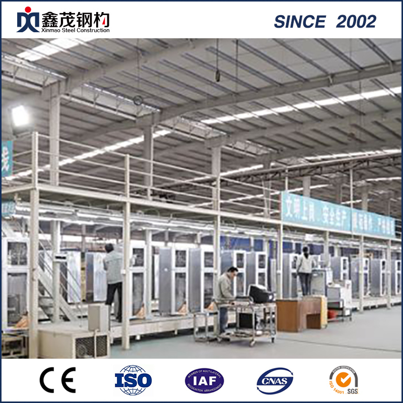 High Quality Metal Galvanized Steel Frame for Steel Structure Workshop