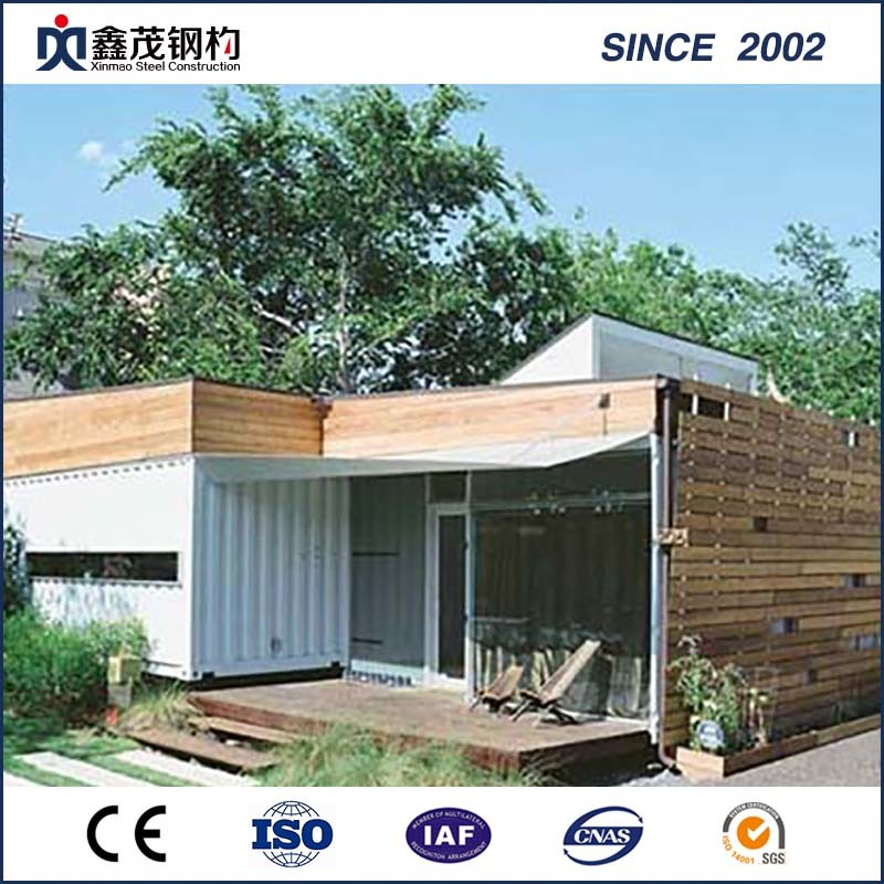 100% Original Factory Prefabricated Glass House -