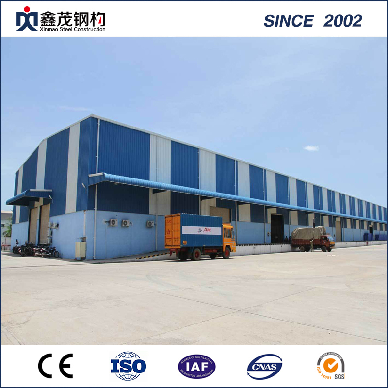 Leading Manufacturer for Container Home Vancouver - High Quality and Low Cost Prefab Steel Structure Building Steel Warehouse – Xinmao ZT Steel