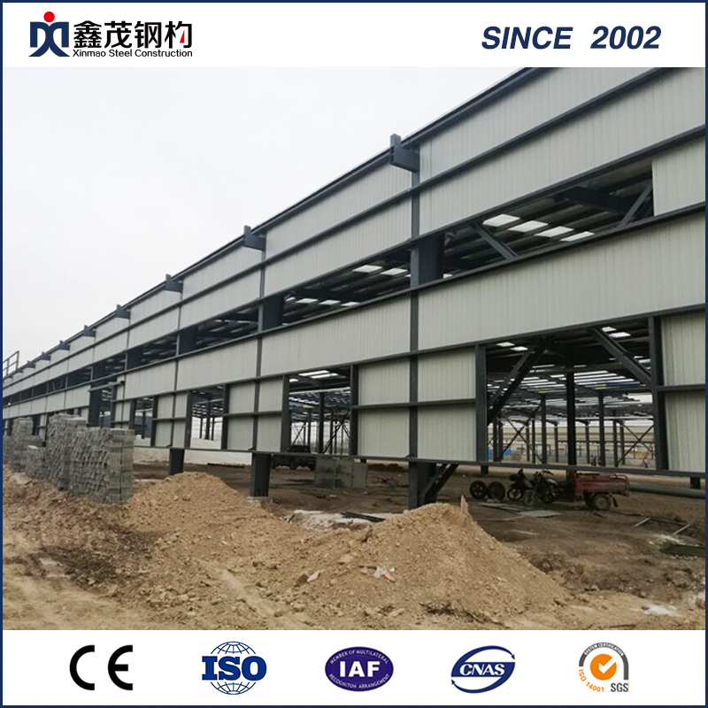 High Strength Earthquake-Proof Prefabricated Steel Structure Workshop