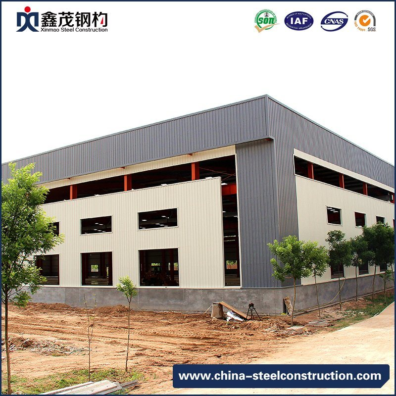 High Technology Prefab Steel Construction Building for Workshop (Steel Structure)
