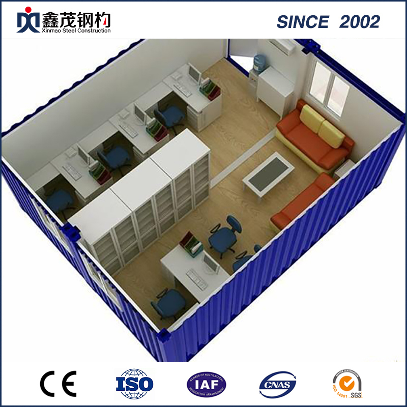 ISO Certificate Prefab Office Container in Low Cost (Container House)