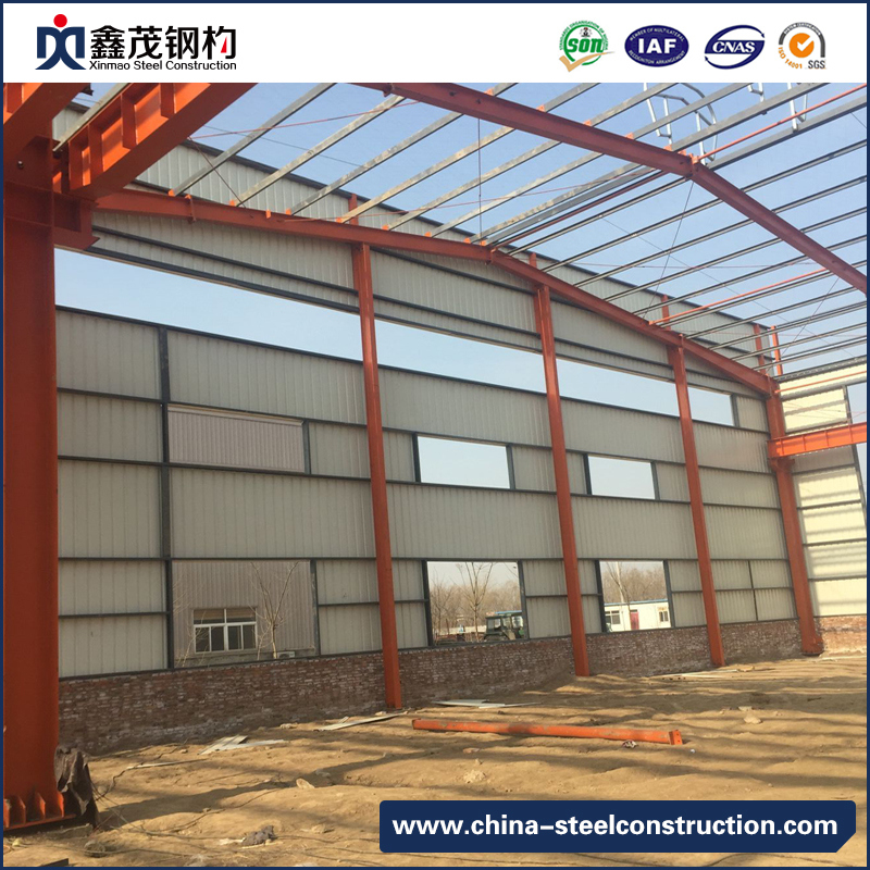 Low -Cost Prefabricated Construction Factory Plant with 15 Years Experience (Steel Warehouse)