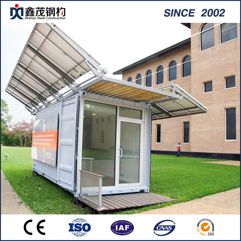 Mobile and Modular Prefabricated Container House for Exhibition Hall