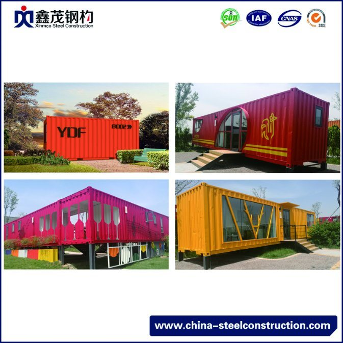 Factory Directly supply Prefabricated Wood Houses - Modern Design Prefabricated Modular Shipping Container House for Restaurant – Xinmao ZT Steel