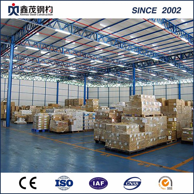 Wholesale Dealers of Easy Installation Poultry House - Modern Designed Steel Structure Warehouse with H Beam Steel – Xinmao ZT Steel