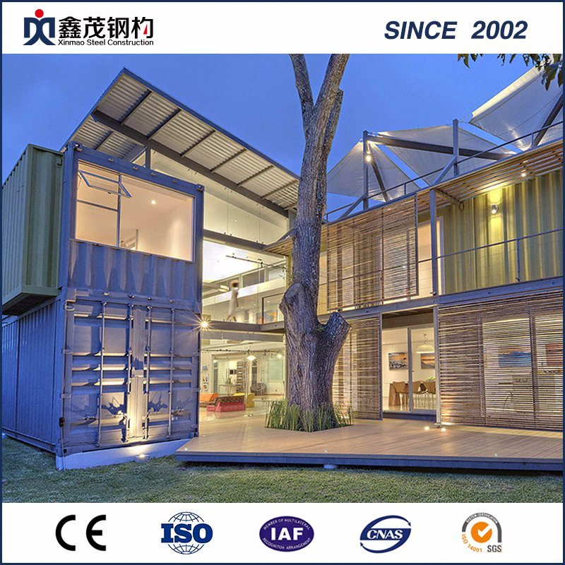 China OEM Prebuilt Log House -