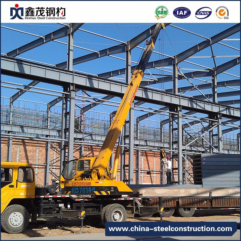 Big Discount Dome Cone Space Frame - Movable Prefabricated Steel Structure Frame for Industrial Building – Xinmao ZT Steel