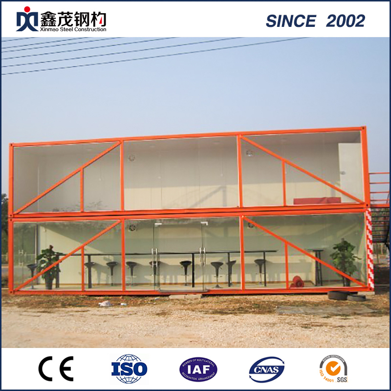 2018 Good Quality Small Steel Factory Plant - Noble Sandwich Panel Prefab Container House with Bathroom – Xinmao ZT Steel