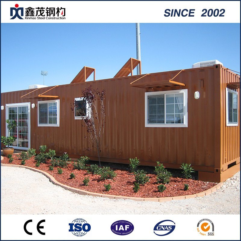 Portable Mobile Prefab Container House mei Badkamer (Container Thús)