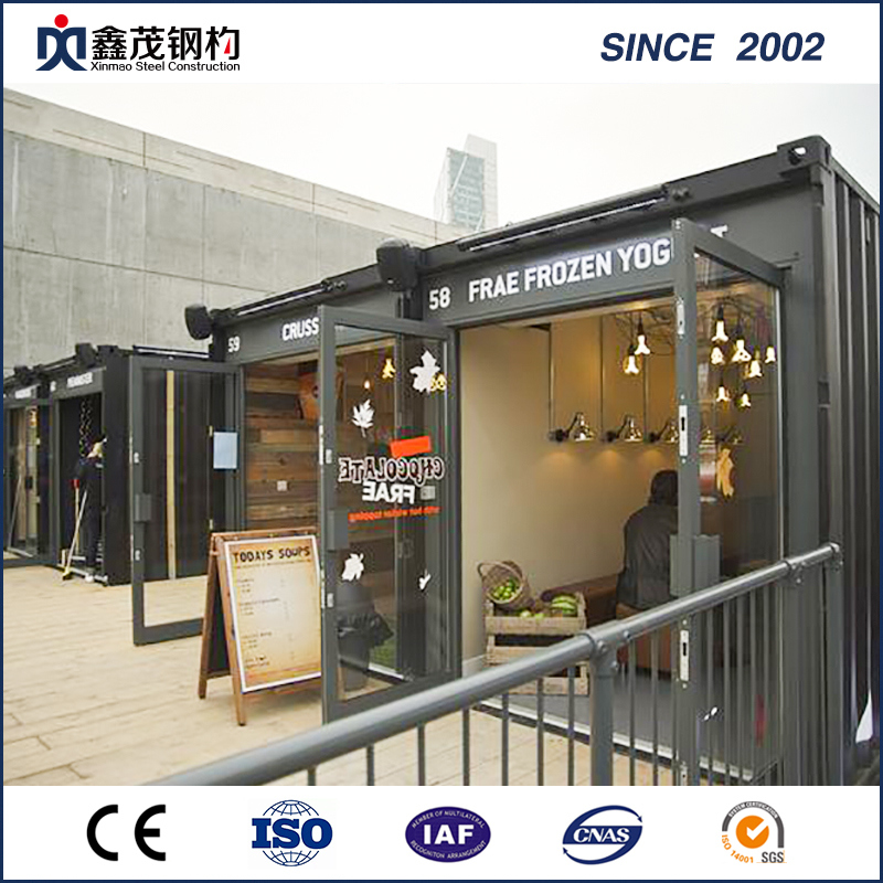 Factory Price For Steel Frame House -