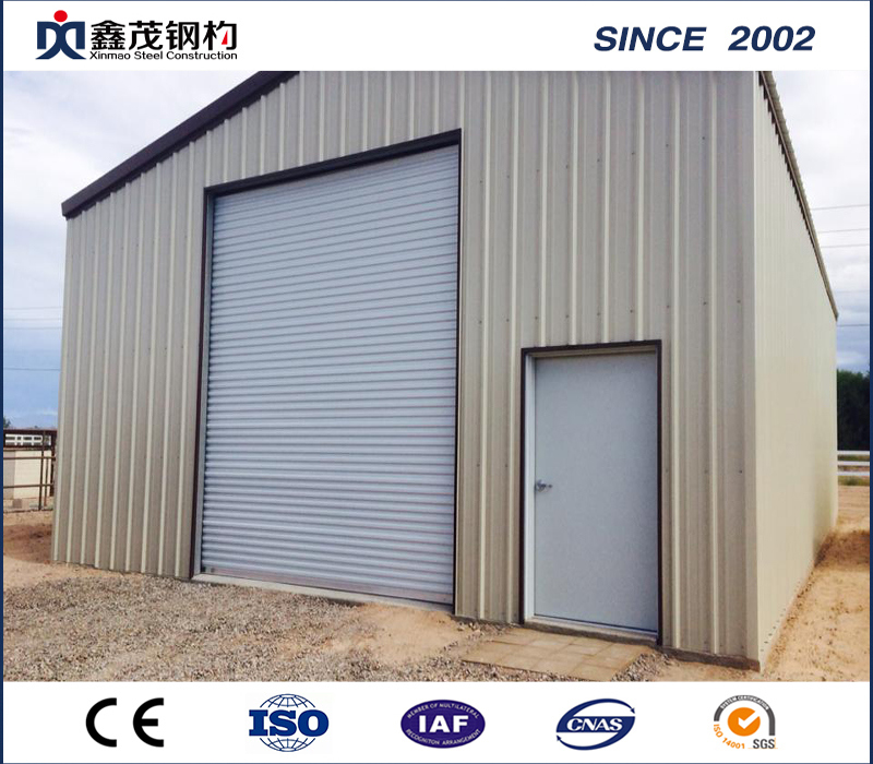 Cheapest Factory Low Cost Steel Structure House - Pre Designed Large Span Steel Construction Building Garage – Xinmao ZT Steel