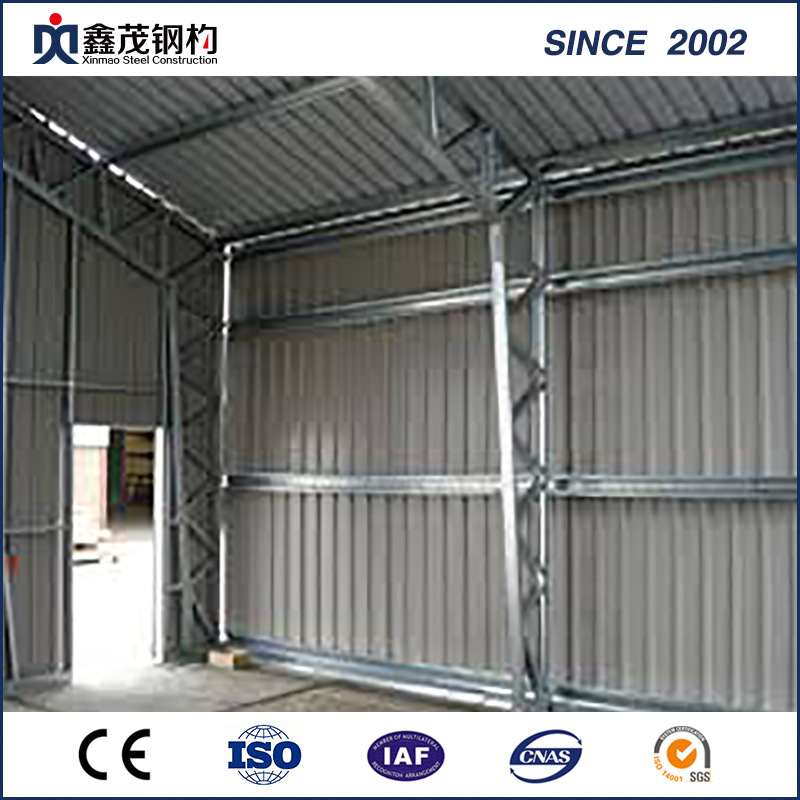 Best Price On Mgo Wall Board Sandwich Panel Pre Designed Large Span Steel Construction Building