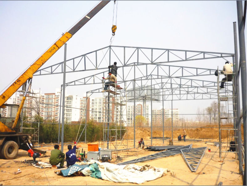 Pre Engineered Steel Structure House for Industrial Building
