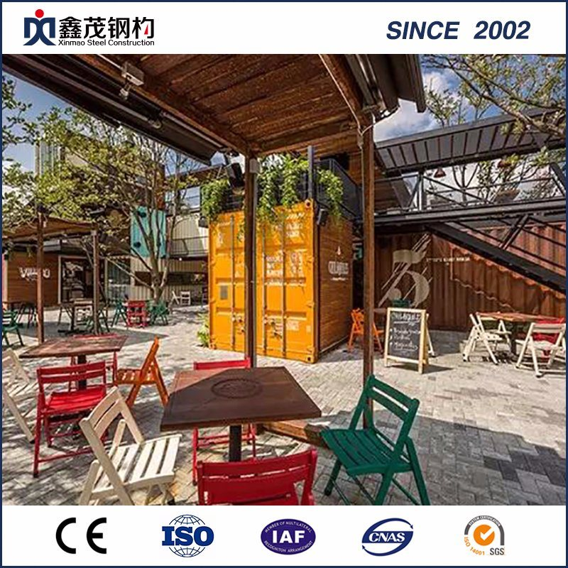 Factory Promotional Container Home Framing Prefab Flat