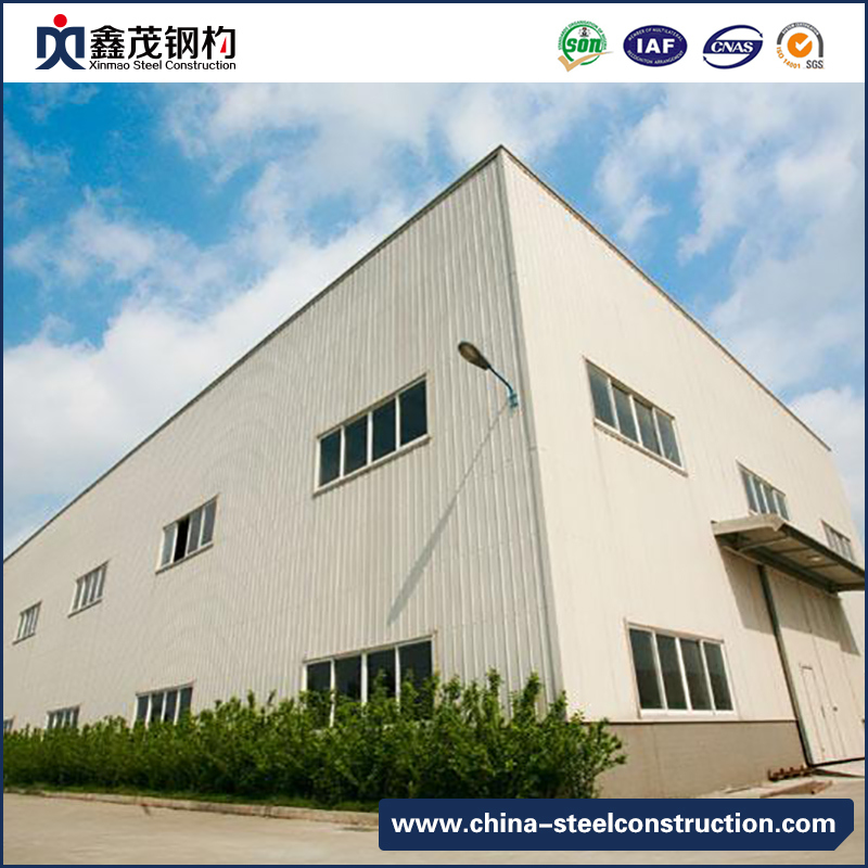 Prefab Integrated Steel Structure House Used for Industrial Workshop
