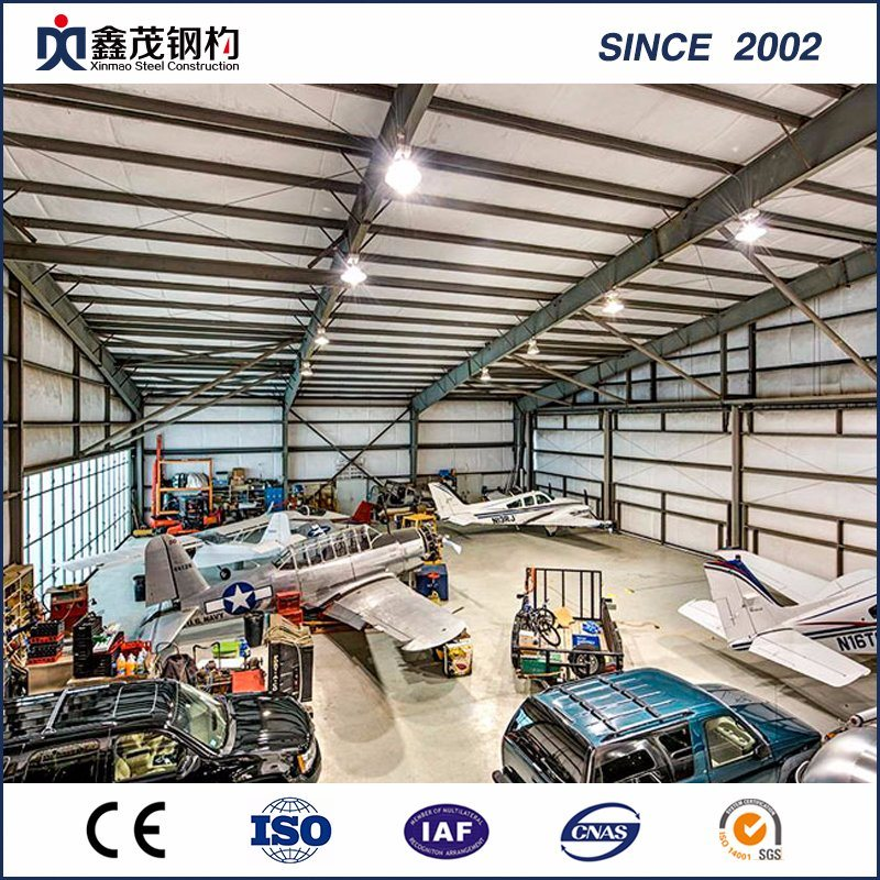 Prefab Light Garage Steel Structure Buildings for Sale