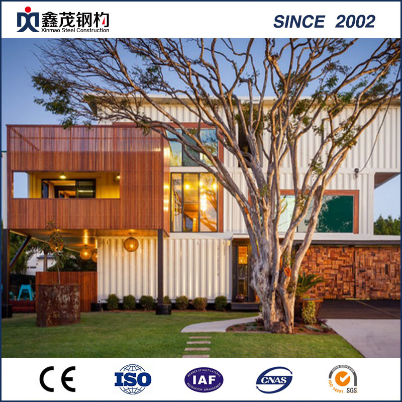 OEM Customized Poultry House Design - Prefab Prefabricated Mobile Modified Shipping Container House for Hotel – Xinmao ZT Steel
