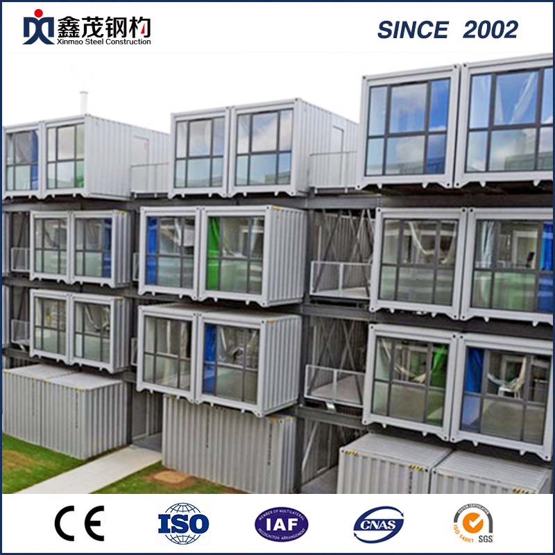 ODM Factory Prefabricated Warehouse - Prefabricated Economic Shipping Container House for Motel Studio – Xinmao ZT Steel