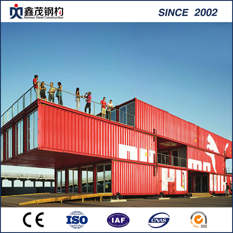 Prefabricated Shipping Container House for One Bedroom Single Department