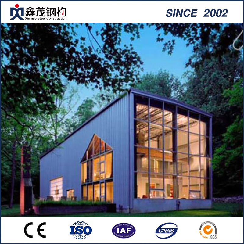 Prefabricated Shipping Container House for Single Department