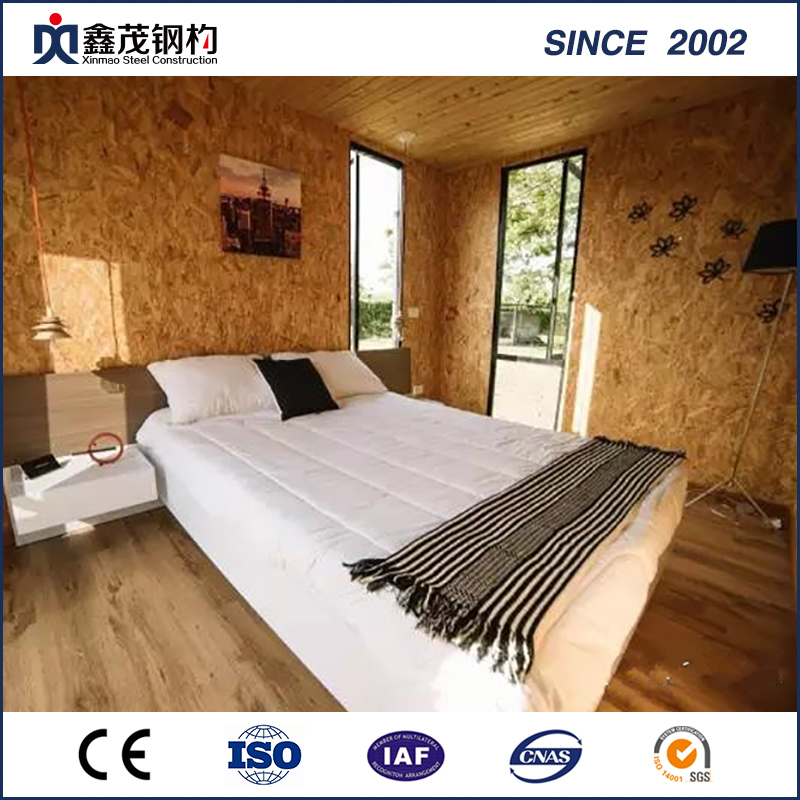 Elegant China Cheap Price Steel Portal Frame Building Assembly   Prefabricated  Shipping Container House For Single Department